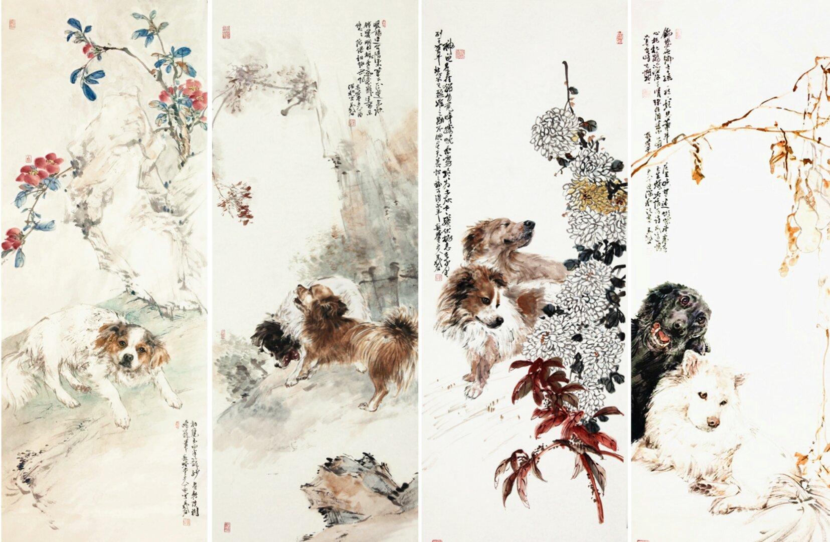 《晁谷与8只狗》